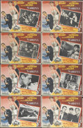 """Movie Posters:Romance, Sabrina (Paramount, 1954). Mexican Lobby Card Set of 8 (11"""" X 14""""). Humphrey Bogart, Audrey Hepburn and WIlliam Holden star ... (Total: 8 Items)"""