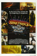 "Movie Posters:Science Fiction, Star Trek II, The Wrath of Khan (Paramount, 1982). One Sheet (27"" X 41""). Ricardo Montalban plays the genocidal villain in t..."