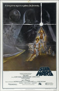 """Movie Posters:Science Fiction, Star Wars (20th Century Fox, 1977). One Sheet (27"""" X 41""""). A longtime ago, in a galaxy close to our hearts, George Lucas ma..."""