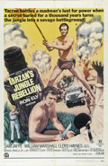 "Movie Posters:Adventure, Tarzan's Jungle Rebellion (Productions, Inc., 1967). One Sheet (27""X 41""). Ron Ely stars as Tarzan in this jungle adventure..."