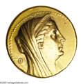 Ancients:Greek, Ancients: Ptolemaic Kingdom. Arsinöe II, wife of Ptolemy II. Died 270 B.C. AV octadrachm (30 mm, 27.88 g). Alexandria, under Ptolemy I...