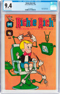 Silver Age (1956-1969):Humor, Richie Rich #50 (Harvey, 1966) CGC NM 9.4 Off-white to white pages....