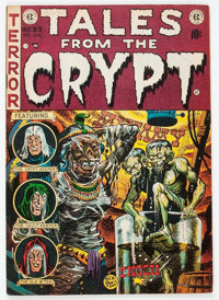 Tales From the Crypt #33 (EC, 1952) Condition: FN-