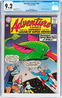 Adventure Comics #332 (DC, 1965) CGC NM- 9.2 Off-white to white pages