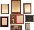 Movie/TV Memorabilia:Awards, A Richard Dawson Group of Awards, 1970s-1980s....