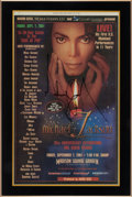 "Music Memorabilia:Autographs and Signed Items, Michael Jackson Signed ""30th Anniversary Celebration"" NewspaperInsert...."