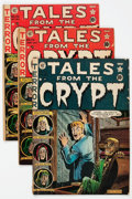 Golden Age (1938-1955):Horror, Tales From the Crypt Group of 11 (EC, 1951-55) Condition: AverageGD.... (Total: 11 Comic Books)