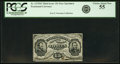 Fractional Currency:Third Issue, Fr. 1275SP 15¢ Third Issue Narrow Margin Face PCGS Choice About New 55.. ...