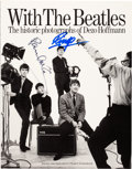 Music Memorabilia:Autographs and Signed Items, Beatles - Paul McCartney and Ringo Starr Signed With theBeatles Book by Dezo Hoffmann....
