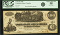 Confederate Notes:1862 Issues, Confederate States of America - T39 $100 1862 PF-5, Cr. 290. PCGSChoice About New 58.. ...
