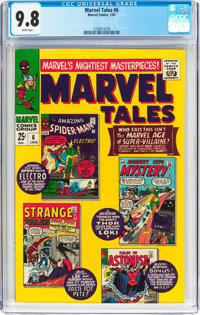 Marvel Tales #6 (Marvel, 1967) CGC NM/MT 9.8 White pages