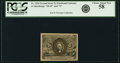 Fractional Currency:Second Issue, Fr. 1234 5¢ Second Issue PCGS Choice About New 58.. ...