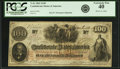 Confederate Notes:1862 Issues, Confederate States of America - T41 $100 1862 PF-25, Cr. 318A. PCGSExtremely Fine 40.. ...