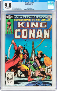 King Conan #7 (Marvel, 1981) CGC NM/MT 9.8 White pages