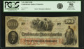 Confederate Notes:1862 Issues, Confederate States of America - T41 $100 1862 PF-10, Cr. 315A. PCGSAbout New 50 Apparent.. ...