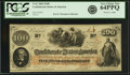 Confederate Notes:1862 Issues, Confederate States of America - T41 $100 1862 PF-22, Cr. 320A. PCGSVery Choice New 64PPQ.. ...