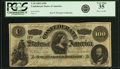 Confederate Notes:1862 Issues, Confederate States of America - T49 $100 1862 PF-1, Cr. 347. PCGSVery Fine 35.. ...