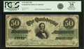 Confederate Notes:1862 Issues, Confederate States of America - T50 $50 1862 PF-9, Cr. 355. PCGSVery Fine 35 Apparent.. ...