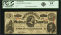 Confederate Notes:1863 Issues, Confederate States of America - T56 $100 1863 PF-1, Cr. 403. PCGSChoice New 63.. ...