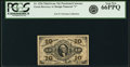 Fractional Currency:Third Issue, Fr. 1256 10¢ Third Issue PCGS Gem New 66PPQ.. ...