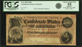 Confederate Notes:1864 Issues, Confederate States of America - T64 $500 1864 PF-1, Cr. 489A. PCGS Choice About New 55 Apparent.. ...