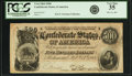 Confederate Notes:1864 Issues, Confederate States of America - T64 $500 1864 PF-2, Cr. 489. PCGS Very Fine 35.. ...