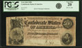Confederate Notes:1864 Issues, Confederate States of America - T64 $500 1864 PF-2, Cr. 489. PCGS Very Fine 20.. ...