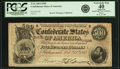 Confederate Notes:1864 Issues, Confederate States of America - T64 $500 1864 PF-2, Cr. 489. PCGS Extremely Fine 40 Apparent.. ...