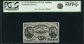 Fractional Currency:Third Issue, Fr. 1272SP 15¢ Third Issue Narrow Margin Face PCGS Choice About New 55PPQ.. ...