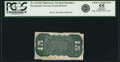 Fractional Currency:Third Issue, Fr. 1272SP 15¢ Third Issue Narrow Margin Back PCGS Choice About New 55 Apparent.. ...