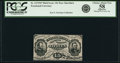 Fractional Currency:Third Issue, Fr. 1272SP 15¢ Third Issue Narrow Margin Face PCGS Choice About New 58 Apparent.. ...