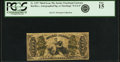 Fr. 1357 50¢ Third Issue Justice PCGS Fine 15