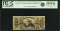 Fractional Currency:Third Issue, Fr. 1364 50¢ Third Issue Justice PCGS Choice About New 55PPQ.. ...