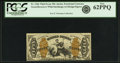 Fractional Currency:Third Issue, Fr. 1366 50¢ Third Issue Justice PCGS New 62PPQ.. ...
