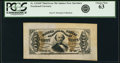 Fractional Currency:Third Issue, Fr. 1324SP 50¢ Third Issue Spinner Wide Margin Face PCGS Choice New 63.. ...
