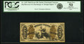 Fractional Currency:Third Issue, Fr. 1345 50¢ Third Issue Justice PCGS About New 50 Apparent.. ...