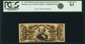Fractional Currency:Third Issue, Fr. 1328 50¢ Third Issue Spinner PCGS Choice New 63.. ...