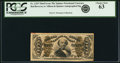 Fractional Currency:Third Issue, Fr. 1329 50¢ Third Issue Spinner PCGS Choice New 63.. ...