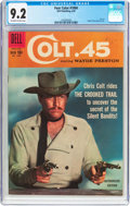 Silver Age (1956-1969):Western, Four Color #1004 Colt .45 (Dell, 1959) CGC NM- 9.2 Off-white towhite pages....