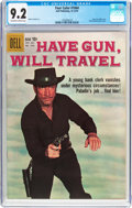 Silver Age (1956-1969):Western, Four Color #1044 have Gun, Will Travel (Dell, 1959) CGC NM- 9.2Off-white to white pages....