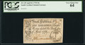 Colonial Notes:South Carolina, South Carolina April 10, 1778 10s PCGS Very Choice New 64.. ...