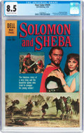 Silver Age (1956-1969):Adventure, Four Color #1070 Solomon and Sheba (Dell, 1959) CGC VF+ 8.5 Off-white to white pages....