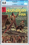 Silver Age (1956-1969):Adventure, Four Color #1114 Huckleberry Finn (Dell, 1960) CGC VF 8.0 Off-white to white pages....