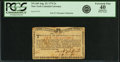 Colonial Notes:New York, New York August 25, 1774 (Water Works) 2s PCGS Apparent ExtremelyFine 40.. ...