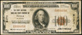 National Bank Notes:Oklahoma, Tulsa, OK - $100 1929 Ty. 1 The First NB & TC Ch. # 5171. ...