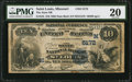 National Bank Notes:Missouri, Saint Louis, MO - $10 1882 Date Back Fr. 545 The State NB Ch. #(M)5172. ...