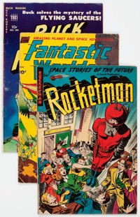 Golden Age Sci-Fi Group of 8 (Various Publishers, 1940s-50s) Condition: Average VG+.... (Total: 8 Comic Books)