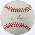 Autographs:Baseballs, Al Lopez Single Signed Baseball. ...