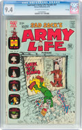 Bronze Age (1970-1979):Humor, Sad Sack's Army Life Parade #47 File Copy (Harvey, 1973) CGC NM 9.4Off-white to white pages....