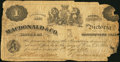 Canadian Currency: , Victoria, VI- Macdonald & Co. $1 Sept. 6, 1863 Ch. # 420-10-02.. ...